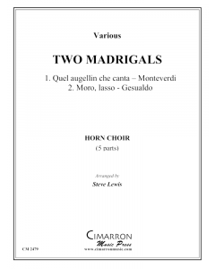 Two Madrigals