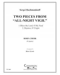 "Two Pieces from ""All-Night Vigil"""