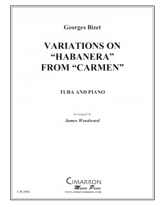 "Variations on ""Habanera"" from Carmen"""