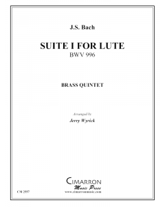 Suite No. 1 for Lute, BWV 996