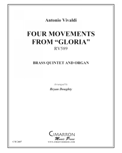 Four Movements from Gloria, RV589