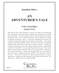 An Adventurer's Tale