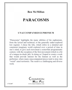 Paracosms