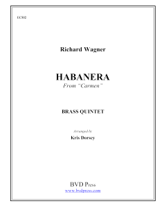 "Habanera from ""Carmen"""