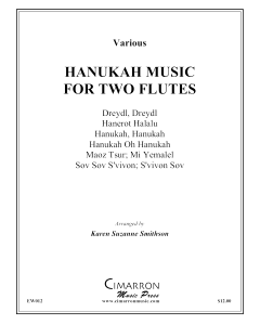 Hanukah Music for Two Flutes