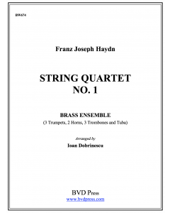 String Quartet in Bb, Op. 1, No. 1