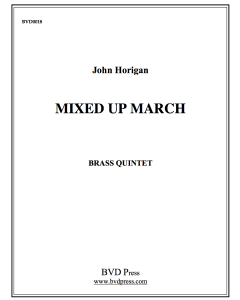 Mixed Up March