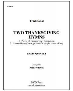 2 Thanksgiving Hymns