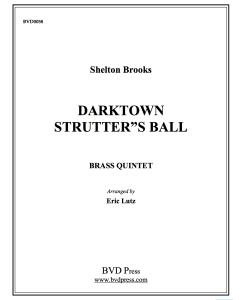 Darktown Strutter's Ball