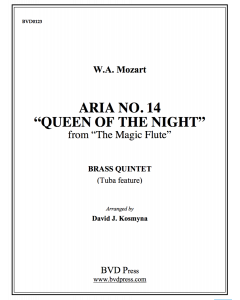 """Queen of the Night"" Aria 14"