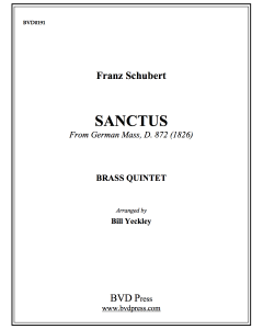 "Sanctus from ""German Mass"""
