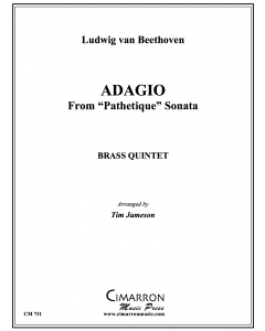 "Adagio Cantible from Sonata ""Pathetique"""