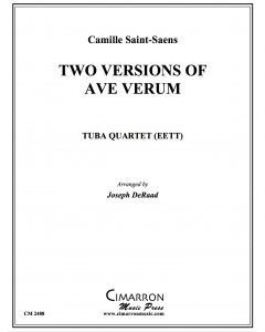 Two Versions of Ave Verum
