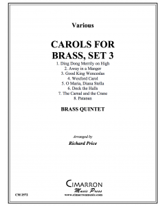 Carols for Brass, Set. 3