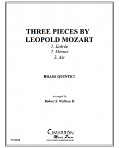 Three Pieces by Leopold Mozart