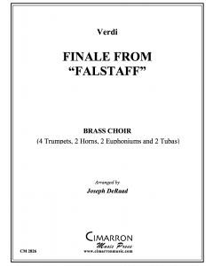 "Finale from ""Falstaff"""