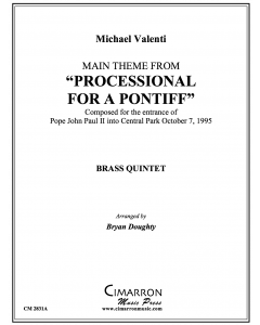 "Main theme from ""Processional For A Pontiff"""