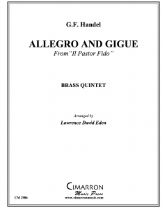 Allegro and Gigue