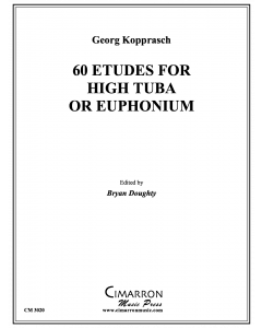 60 Etudes for High Tuba or Euphonium