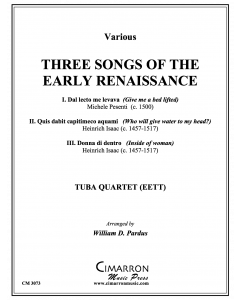 Three Songs of the Early Renaissance