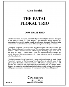 Fatal Floral Trio, The