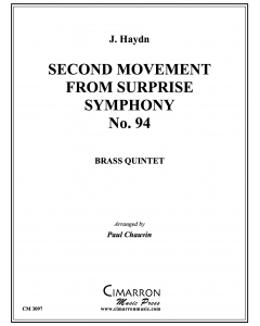 Second Movement from Surprise Symphony No. 94