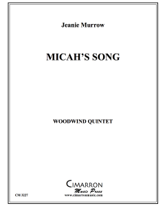Micah's Song (Woodwind Quintet version)