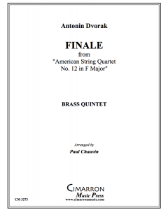 "Finale from  ""American String Quartet No. 12 in F Major"""