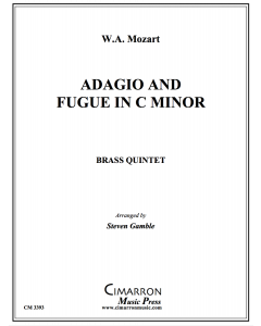 Adagio and Fugue in c minor