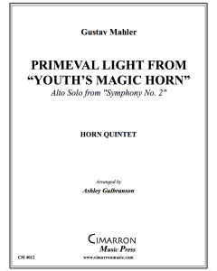 "Primeval Light from ""Youth's Magic Horn"""