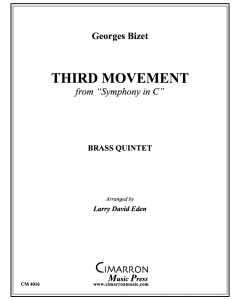 "Third Movement from from ""Symphony in C"""