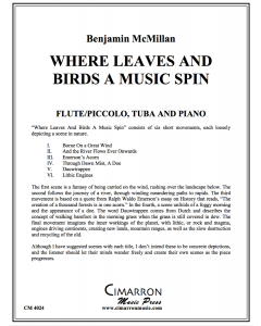 Where Leaves and Birds a Music Spin
