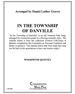 In the Township of Danville