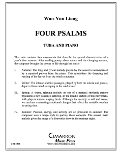 Four Psalms