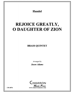 Rejoice Greatly, O Daughter of Zion
