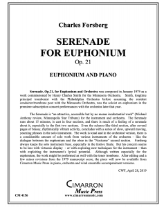 Serenade for Euphonium (Op. 21)