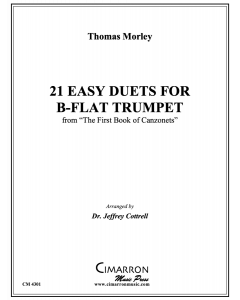 21 Easy Duets for B-Flat Trumpet