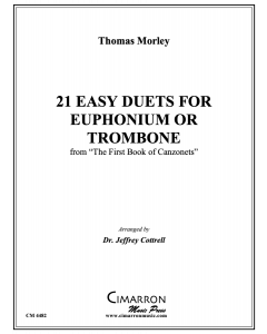 21 Easy Duets for Euphonium or Trombone