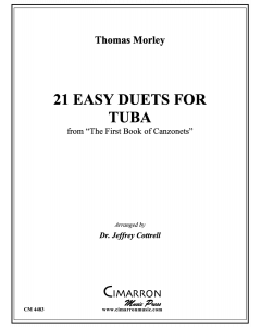 21 Easy Duets for Tuba
