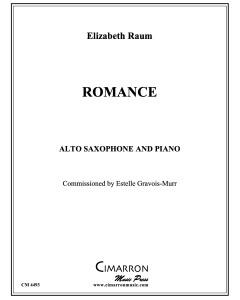 Romance for Alto Saxophone