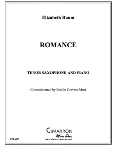 Romance for Tenor Saxophone