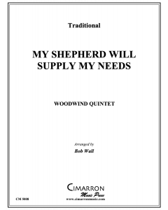 My Shepherd Will Supply My Needs