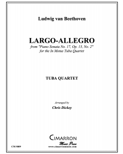 "Largo-Allegro from ""Piano Sonata No. 17"""