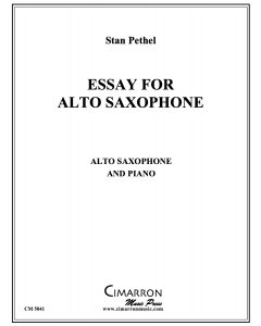 Essay for Alto Saxophone