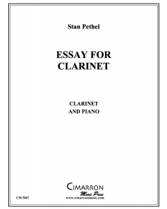 Essay for Clarinet