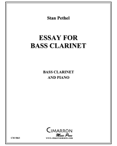 Essay for Bass Clarinet