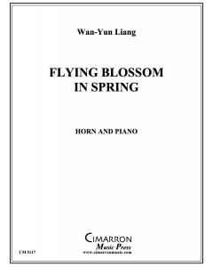 Flying Blossom in Spring