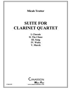 Suite for Clarinet Quartet