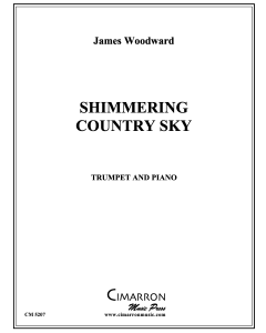 Shimmering Country Sky
