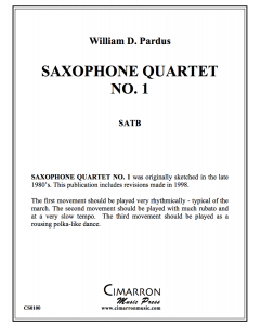 Saxophone Quartet No. 1